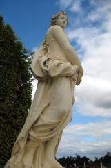 Statue du Printemps, fontaine du Point du Jour