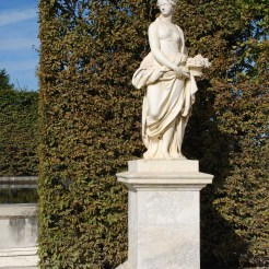 Statue du Printemps, fontaine du Point du Jour