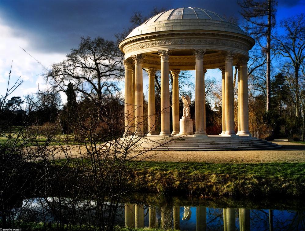 Temple de l amour jardin anglais du petit trianon vue d for Jardin anglais du petit trianon