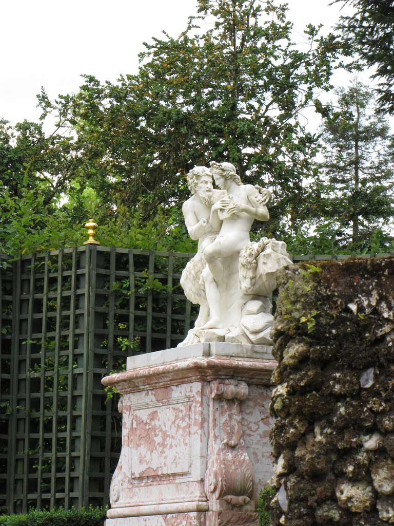 Statues mythologiques en construction andr le n tre for Jardin versailles
