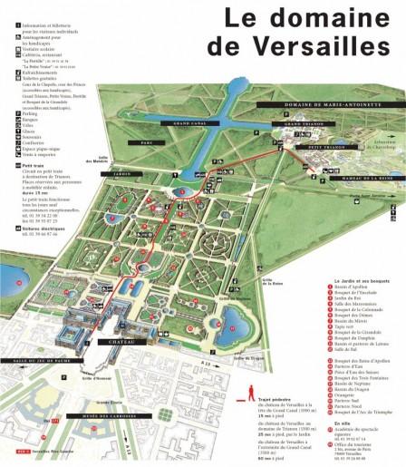 Plan du parc de versailles andr le n tre for Parking parc des expositions versailles
