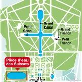 carte simplifiée jardins de versailles