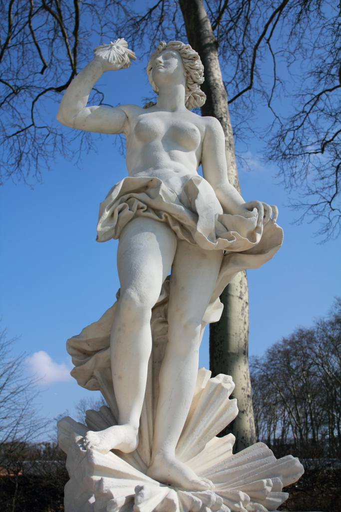 Statue de la clart all e d apollon cot nord jardins - Le jardin de versailles histoire des arts ...