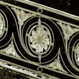 Grille de la rampe de Trianon