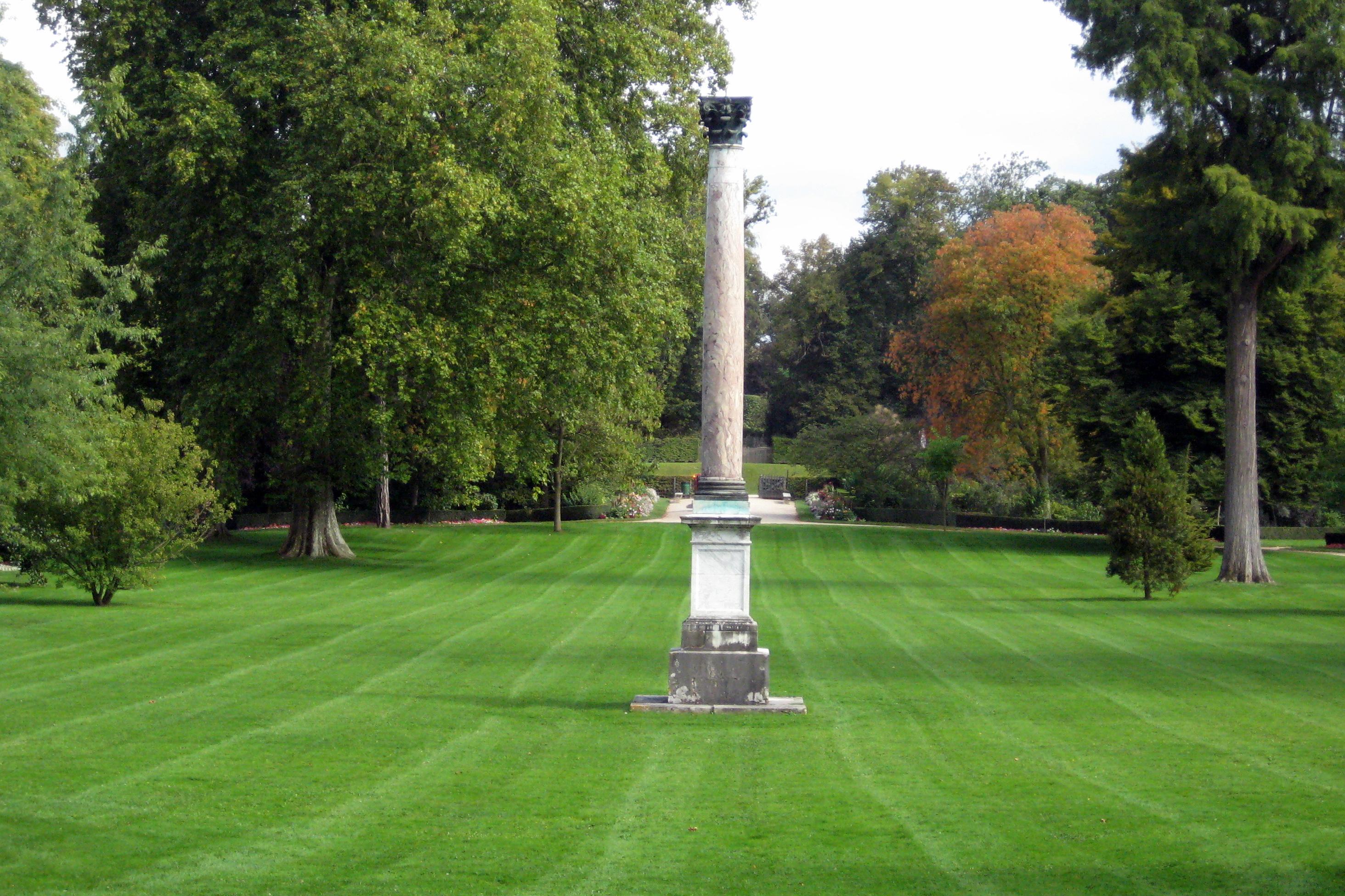 Bosquet du jardin du roi jardins de versailles colonne for Jardin versailles
