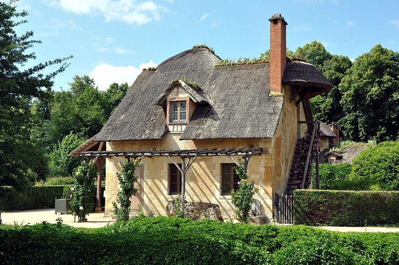 hameau de la reine domaine de trianon pr sentation andr le n tre. Black Bedroom Furniture Sets. Home Design Ideas