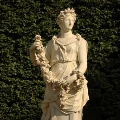 Terme du Printemps, Demi-lune du Bassin d'Apollon