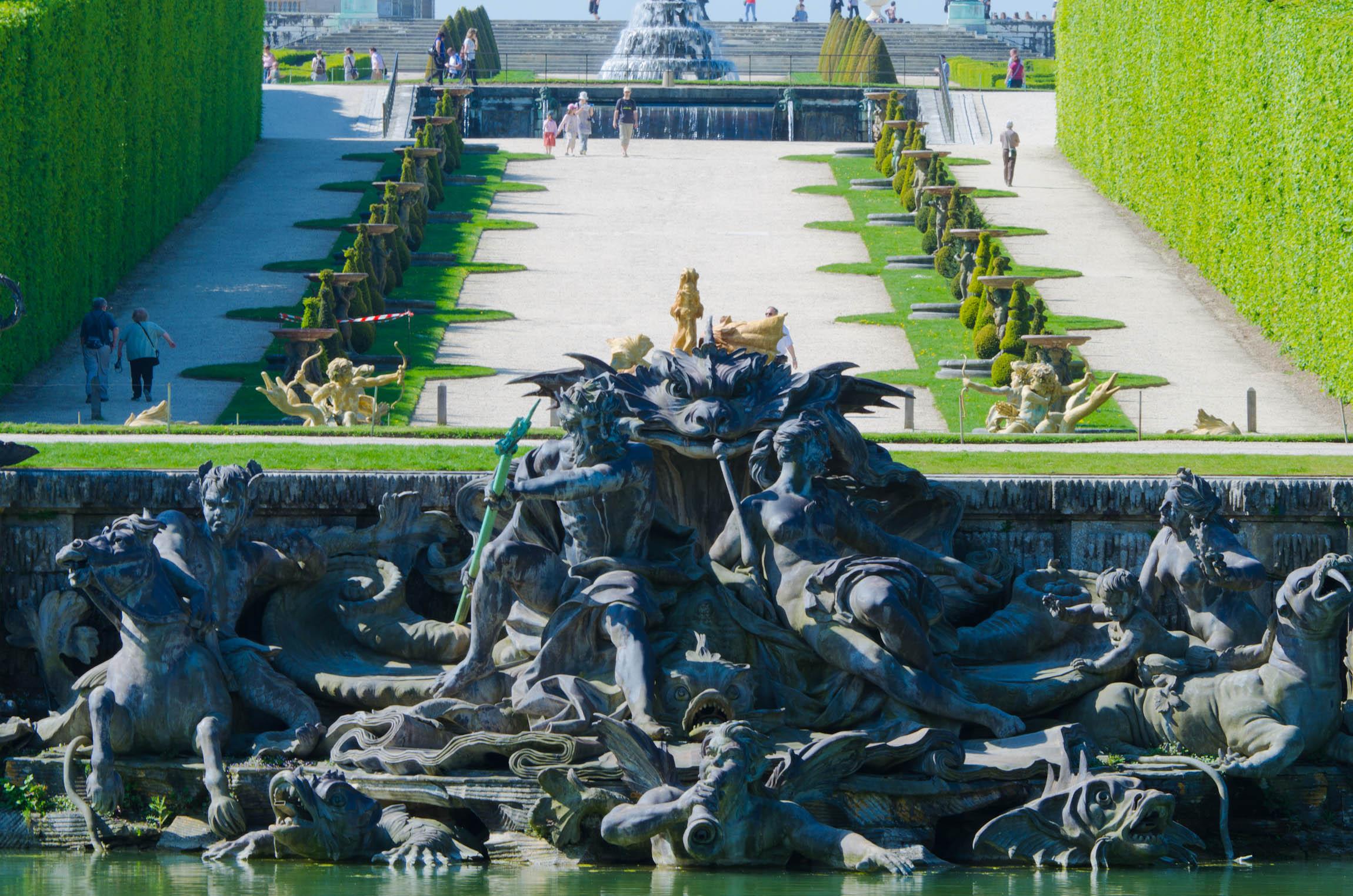 Bassin de neptune petit parc de versailles vue d - Saint cyprien les jardins de neptune ...