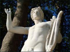 Apollon à la Lyre - jardins
