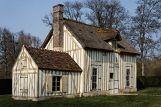 Maisonnette à colombage, hameau