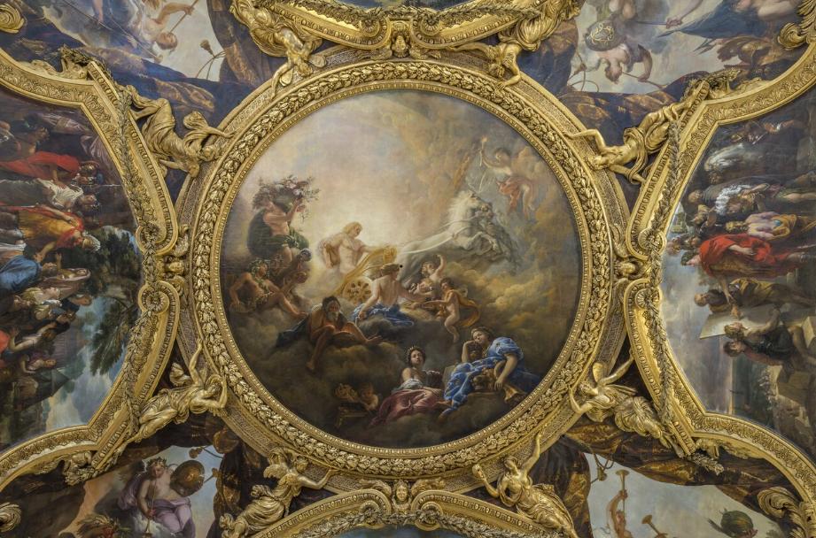 Apollon mythe et repr sentation dans les jardins de for Salon d apollon