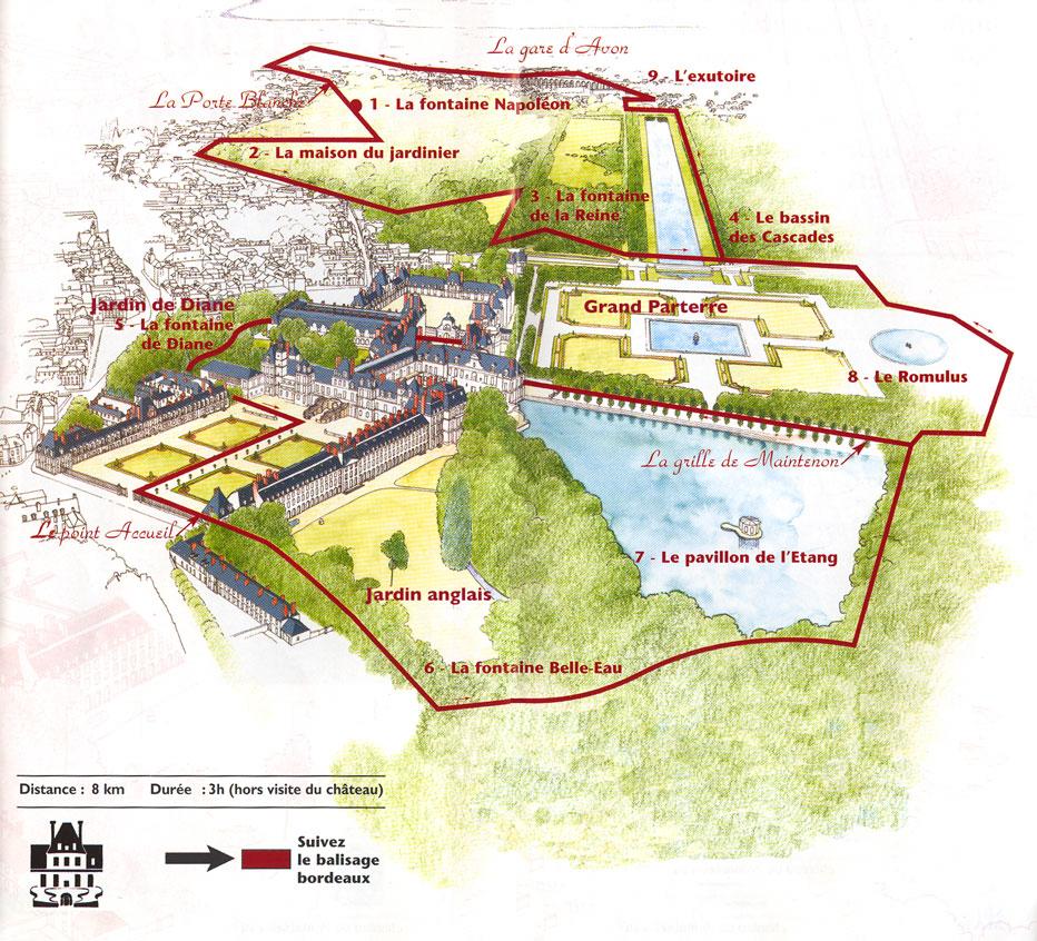 Andr le n tre et le jardin du ch teau de fontainebleau for Jardin anglais chateau fontainebleau