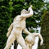 Paetus se donnant la mort après que sa femme Aria ait préféré mourir avant lui