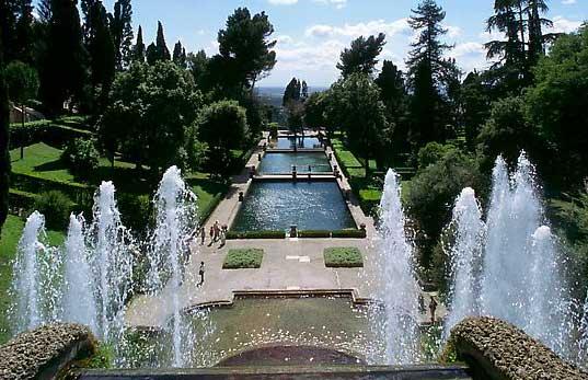Aux origines du jardin la fran aise la villa d este for Jardin villa d este