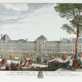 Les promenades du palais des Tuileries, Rigaud Jean-Baptiste (vers 1700-?) Rigaud Jacques (vers 1681-1754) (d'après)