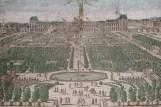 Vue du jardin au XVIIe siècle