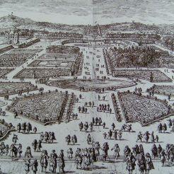 « Veüe du jardin des Tuileries comme il est à présent », Perelle