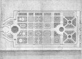 Plan d'André Le Nôtre pour le jardin des Tuileries (1666-1672)