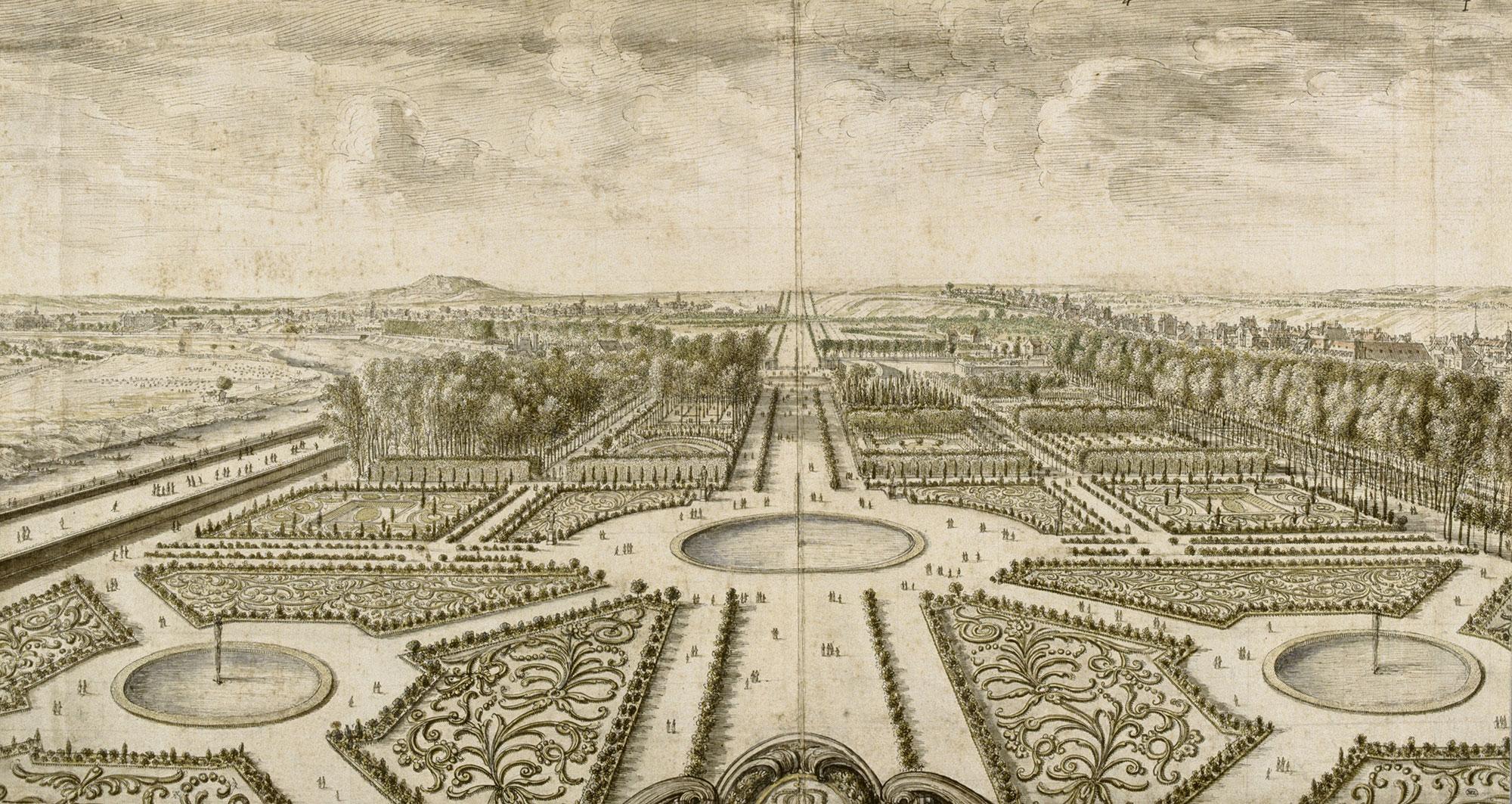 Andr le n tre et le jardin des tuileries pr sentation for Jardin a la francaise versailles