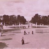 La Grande allée du Jardin des Tuileries, v. 1890