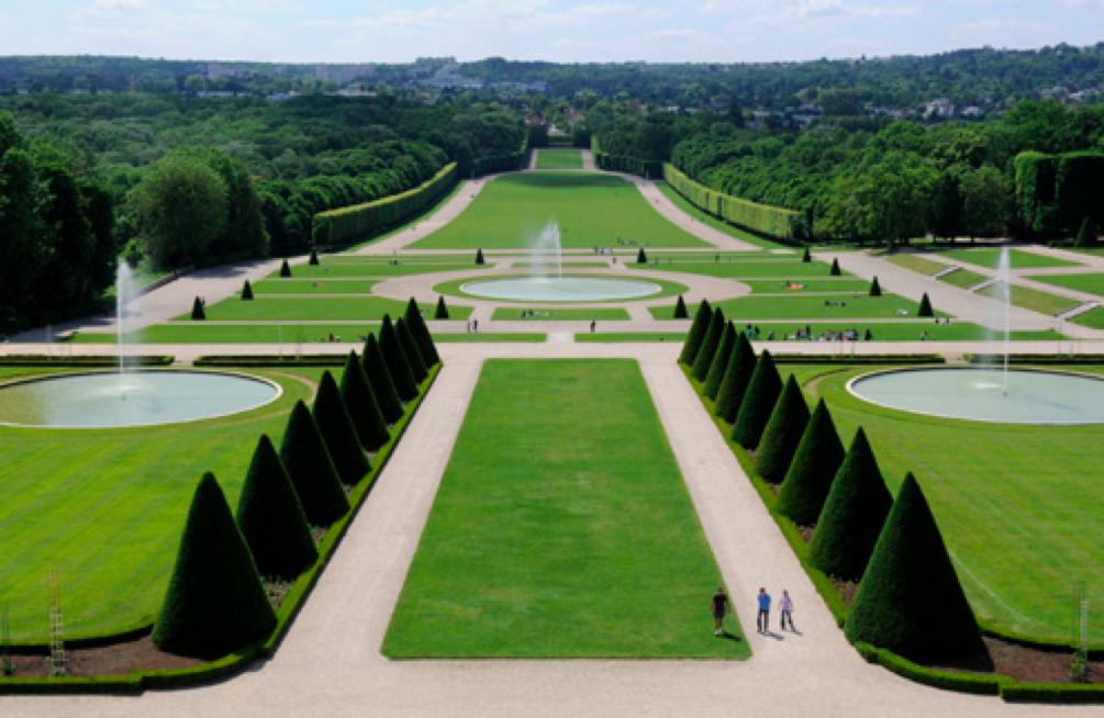 Andr le n tre colbert et le parc de sceaux - Jardin a la francaise caracteristique ...