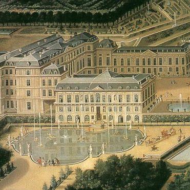 Saint-Cloud, Etienne Allegrain, vers 1675, détail