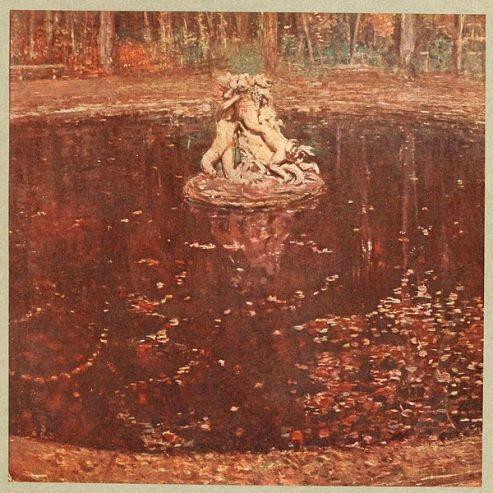 Les Eaux Mortes (Versailles) » – Vers 1900, Paul César Helleu