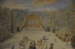 Buffet d'eau central du bosquet de l'Arc de Triomphe - Jean Cotelle