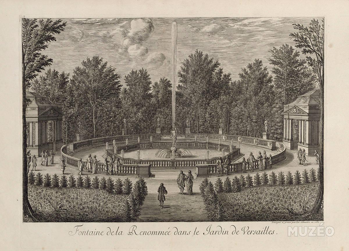 Bosquet de la renomm e jardins de versailles vu par for Jardin a la francaise versailles