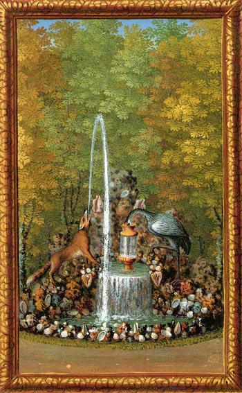 Illustration de la fontaine