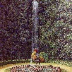 4. Fontaine du Coc et du Diamant