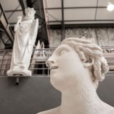 groupe sculpté de Latone et ses enfants