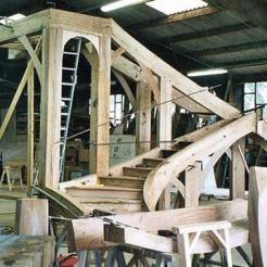 Restauration de l'escalier