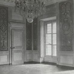 Ancienne salle à manger et salle réception de Marie Antoinette en 1930