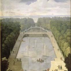 4. Le Bassin du Miroir d'Eau et l'Isle Royale - Etienne Allegrain