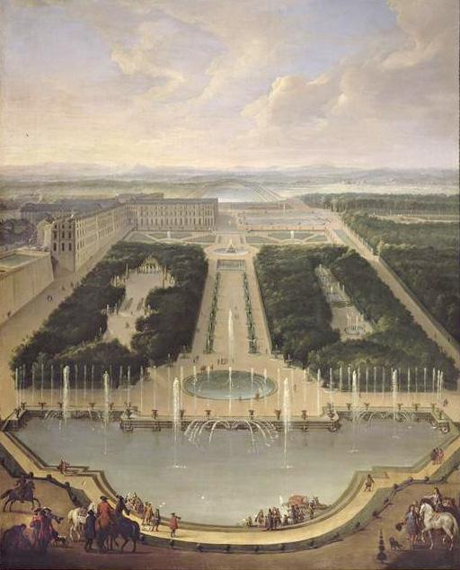 vue de Versailles