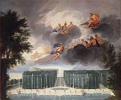 13. Vue du Bassin de Neptune et de l'Allée d'eau avec le jugement de Pâris - Jean Cotelle