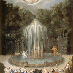 12. Vue de l'Etoile ou Montagne d'eau avec Alphée poursuivant Aréthuse - Jean Cotelle