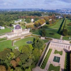 Orangerie et restes du Château-Neuf transformé en observatoire