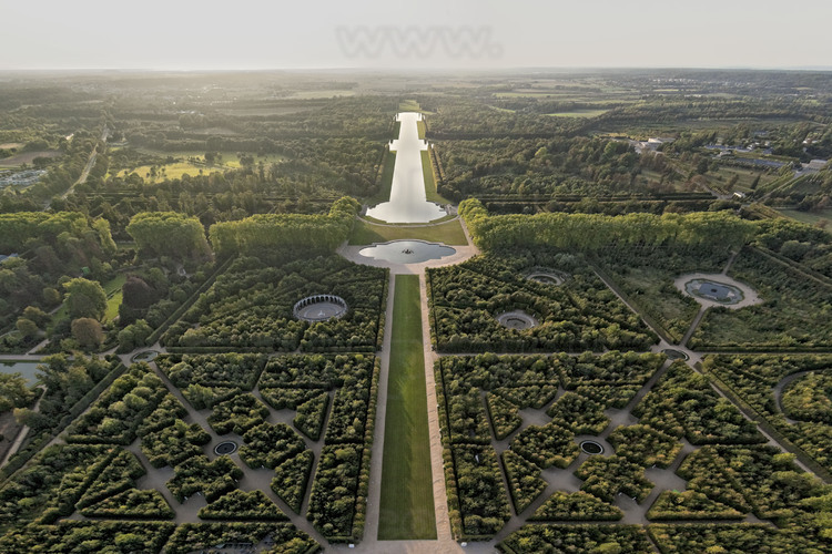 La grande perspective d andr le n tre vue par st phane - Jardin de versailles histoire des arts ...