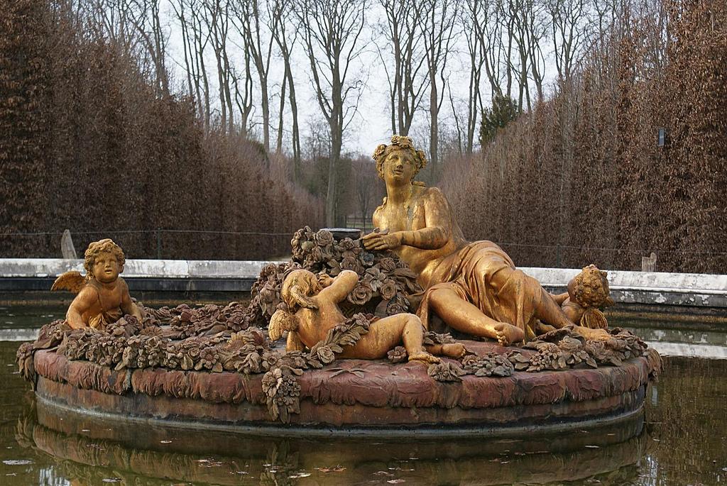 Bassin de flore en t automne et hiver petit parc de versailles s lection des 3 plus belles - Bassin en cuivre versailles ...