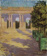 Arcade of the Grand Trianon Versailles, James Carroll Beckwith