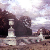 Jardins de Trianon - Aquarelle