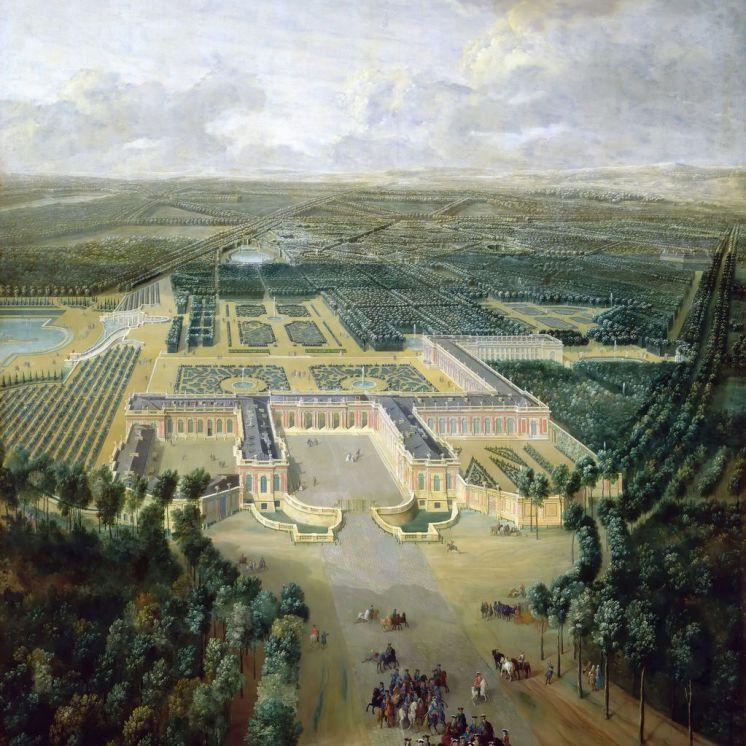 Arrivée au Grand Trianon