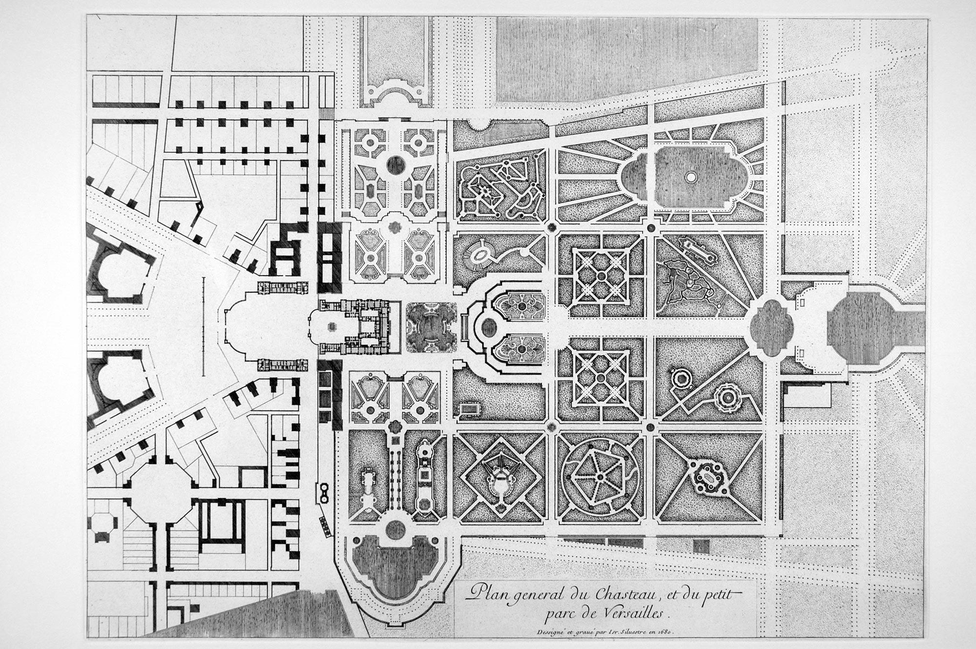 Plan Des Jardins De Versailles A Imprimer