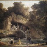 Les bains d'Apollon à Versailles Robert Hubert (1733-1808) Paris, musée Carnavalet