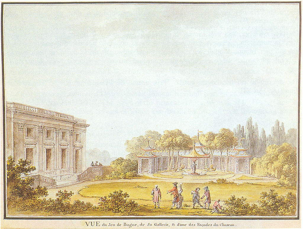 Jardin anglais du petit trianon pr sentation andr le for Jardin anglais du petit trianon