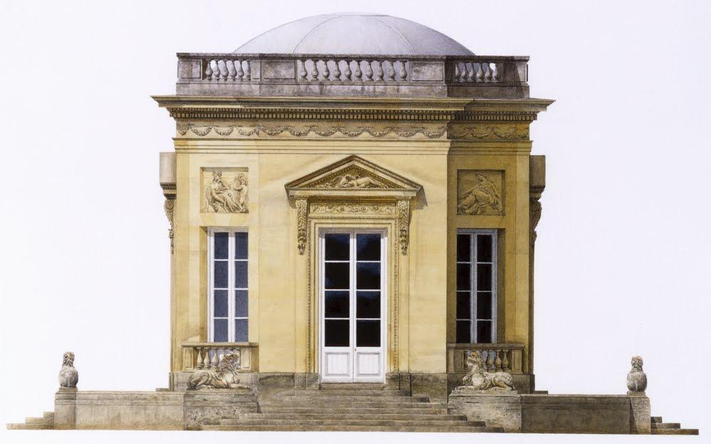 Belv d re jardin la fran aise du grand trianon for Architecte jardin versailles