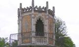 Tour gothique,jardin public de Cognac