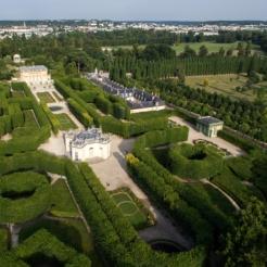 Pavillon français et jardin français